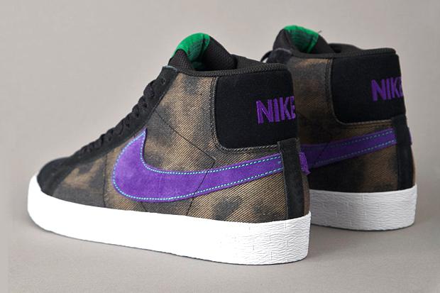 nike sb blazer blackvarsity purple 0 Nike SB Blazer Black/Varsity Purple