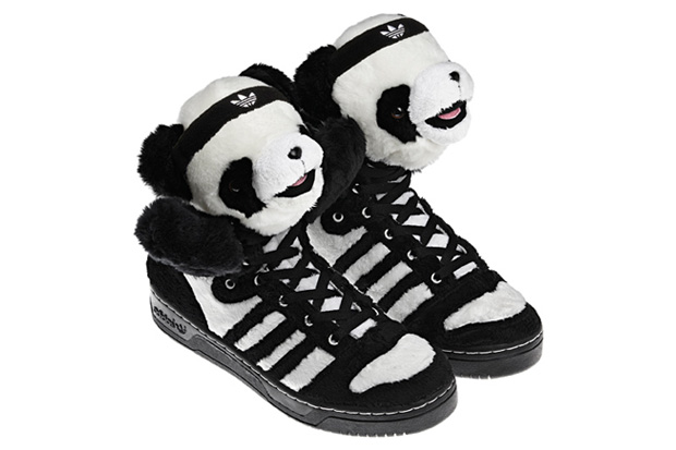 Teddy Bear Adidas Shoes