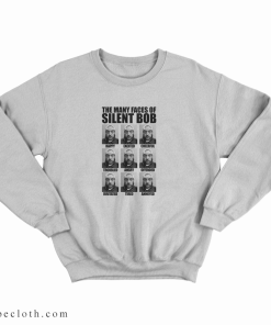 Kevin Smith The Many Faces Of Silent Bob Sweatshirt