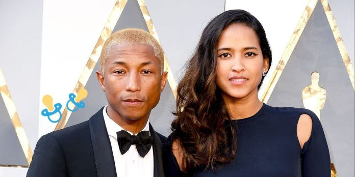Pharrell and Wife Welcome Triplets