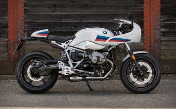 The BMW R Nine T Racer Motorcycle