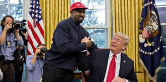 Kanye West Arrives at White House