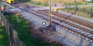 Cyclist cheated train death
