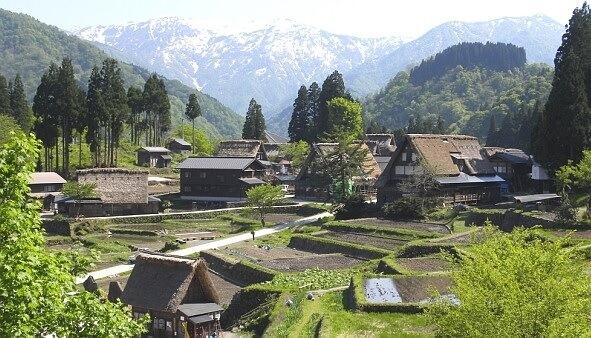 Farmhouse in Japan