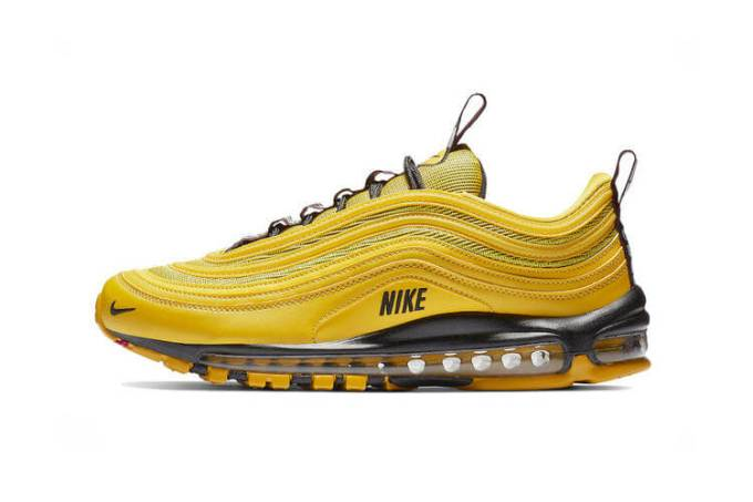 "The Nike Air Max 97 Premium Lights Up In ""Bright Citron"""