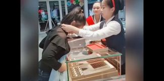 Jewelry Prank in China has