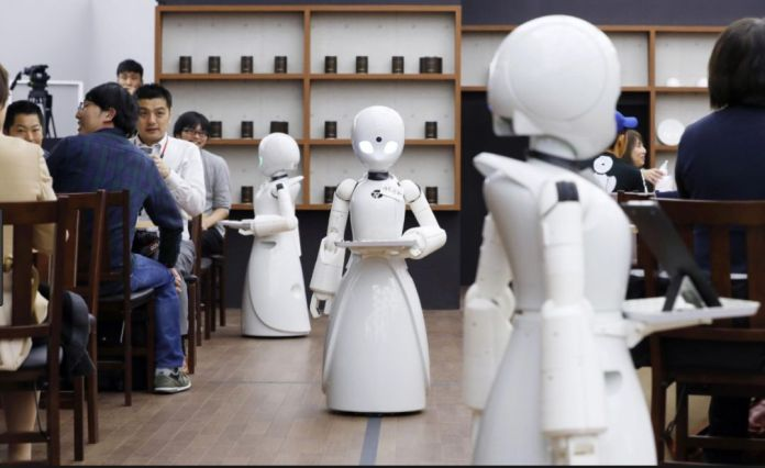 Robots In Japan Allow People