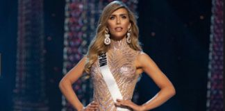 Woman in Miss Universe