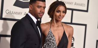 Ciara and Russell Wison
