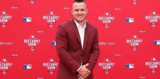 Mike Trout Signs With Los Angeles Angels For Nearly Half A Billion American League Just secured a major contract