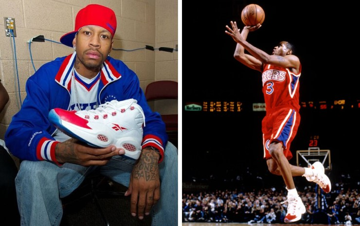 Allen Iverson came in the game and destroyed