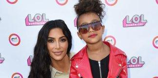 Kim Kardashian Mom-Shamed As Usual north west