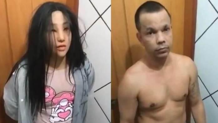 Drug Dealer Clauvino da Silva Who Dressed Up As Girl