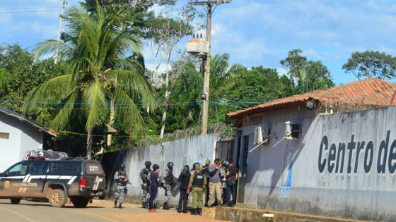 brazil prison fight