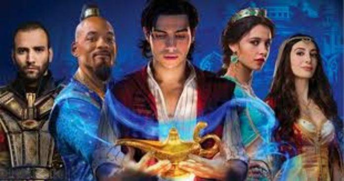 Aladdin is looking