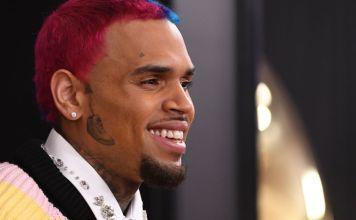 Chris Brown Got A Face Tattoo