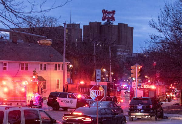 Shooting At Milwaukee Coors Brewing Leaves 6 Dead