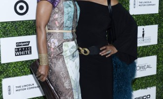 Angela Bassett and Chaka Khan at Black Women in Hollywood Luncheon