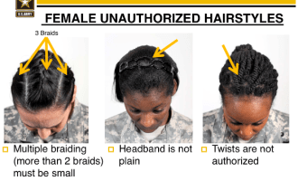 Army Regulations Natural Hair