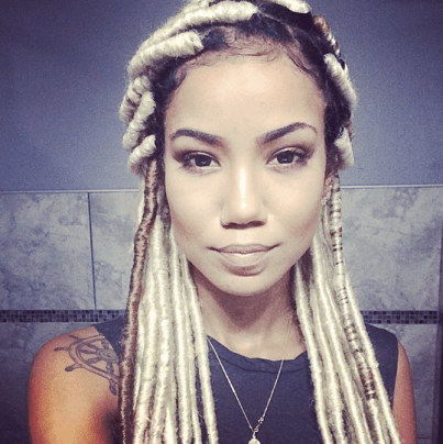 Image result for jhene aiko faux locs