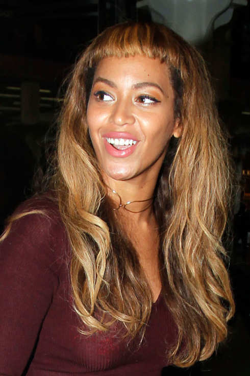 Are Beyonces Baby Bangs On Trend