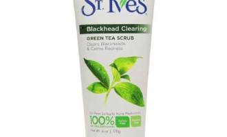 st ives blackhead scrub green tea hypehair