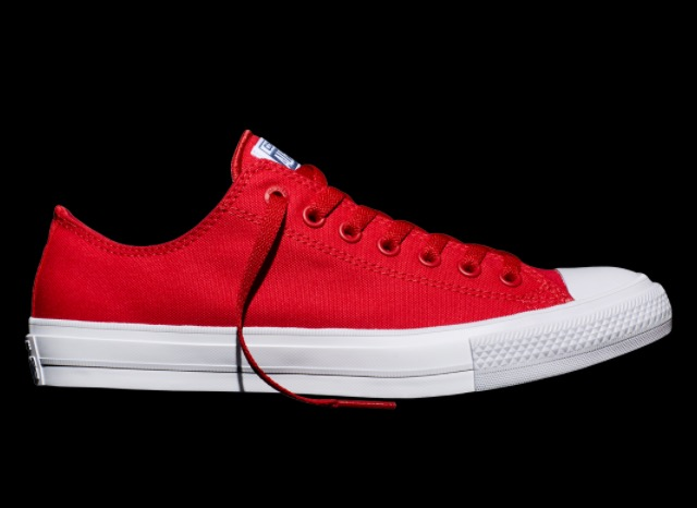 Chuck II Low Red