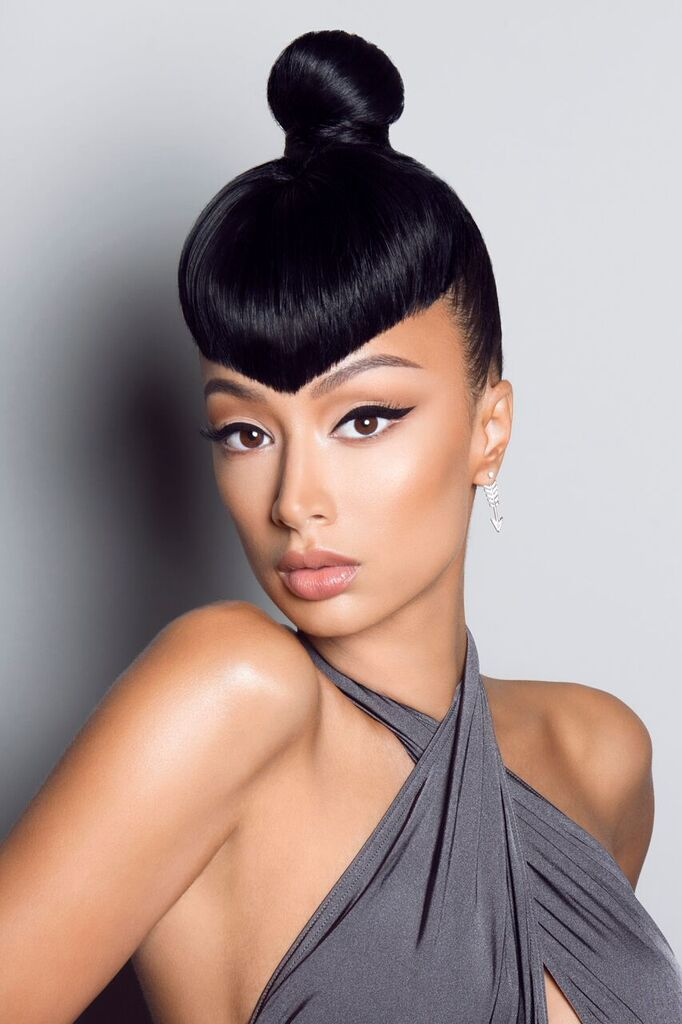 Draya Michele Serves Up Fierceness As Mane Addicts Mane Ambition