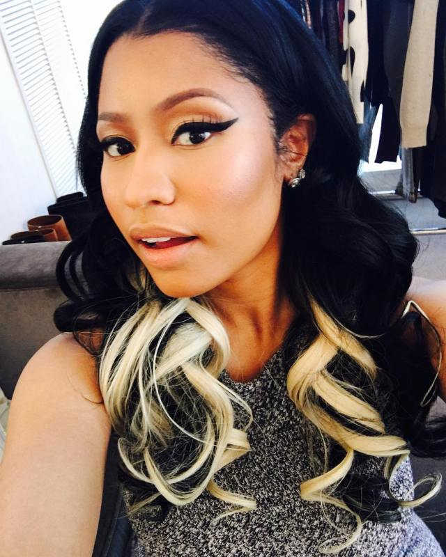 Nicki Minaj X Two-Tone hair