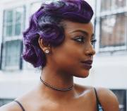 justine skye wows with purple finger