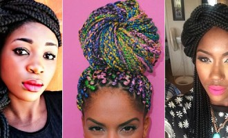 box braid styles