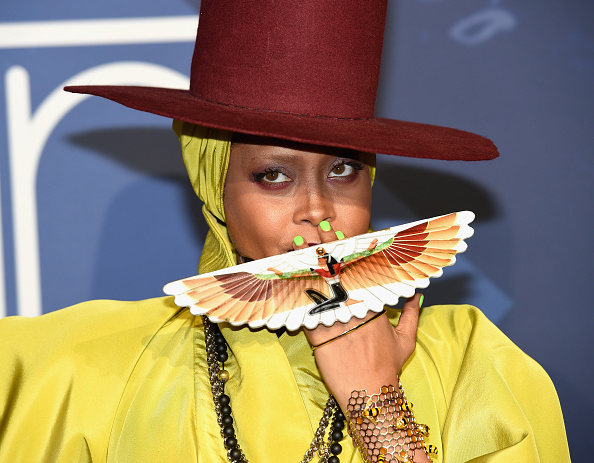 Erykah Badus Soul Train Hat Game Is Still Everything