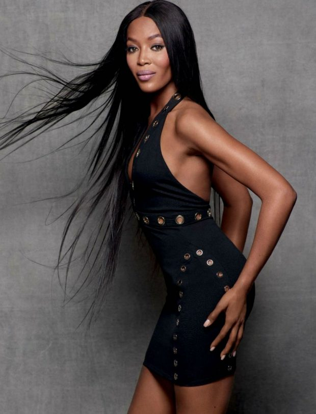 Close-Up] Naomi Campbell Sizzles On 'GQ Germany' Cover