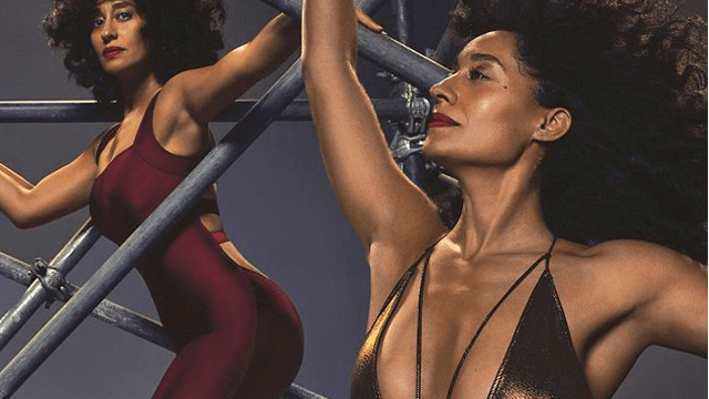 CloseUp Tracee Ellis Ross Shows Off Toned Body Goals In