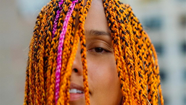 You Have To See Alicia Keys Bold New MultiColored Look