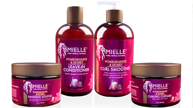 Mielle Organics Launches Pomegranate  Honey Collection