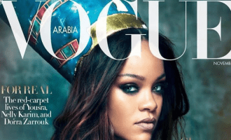 Rihanna X Vogue Arabia