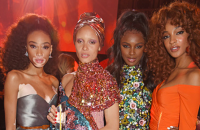 Winnie Harlow, Adwoa Aboah, Leomie Anderson and Jourdan Dunn