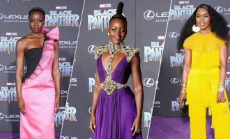 Black Panther world premiere red carpet