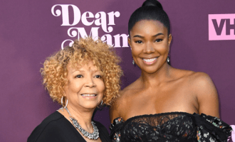 Gabrielle Union and her mom, Theresa Union