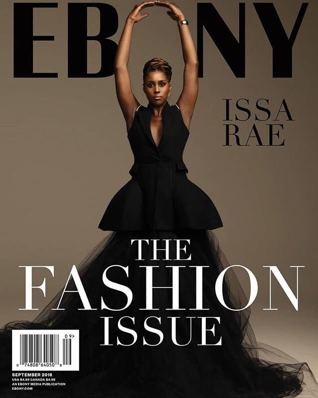 Issa Rae X Ebony September 2018