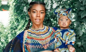 Gabrielle Union x Kaavia James