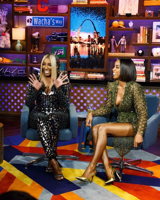 Kelly Rowland X Watch What Happens Live