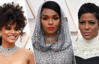 Zazie Beetz, Janelle Monáe and Tamron Hall