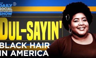 Dulcé Sloan X Black Hair In America