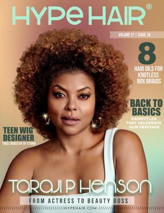 Taraji P. Henson X Hype Hair October 2020 Cover