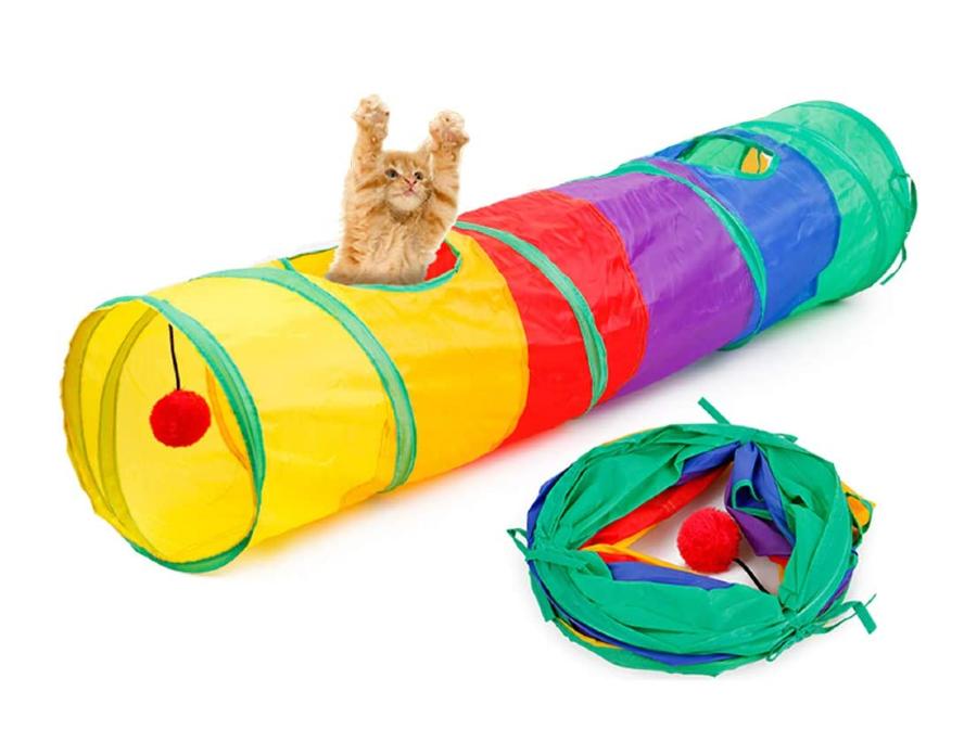 Túnel para gatos - Amazon