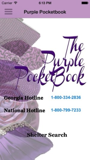Purple PocketBook Screenshot 1