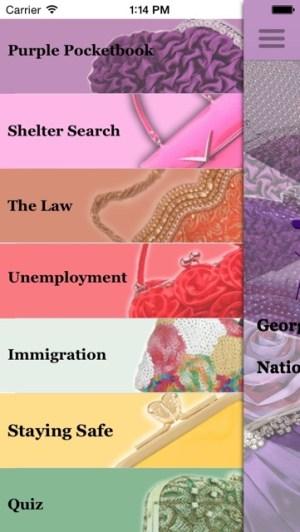 Purple PocketBook Screenshot 2