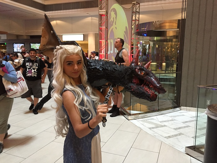 Daenaerys and her dragon